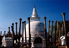 The sacred city of Anuradhapura (4 BC)
