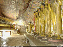 The Cave Temples of Dambulla (1 BC)