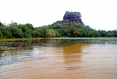 The Sigiriya rock fortress (5 AD)