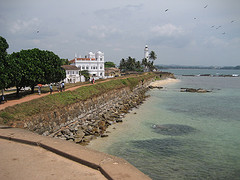 The Duch Fortifications at Galle (17 AD)