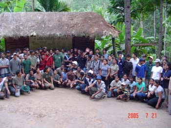 group photo sinharaja2005